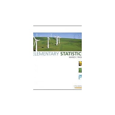 Elementary Statistics (11th Edition), New Book (9780321500243)