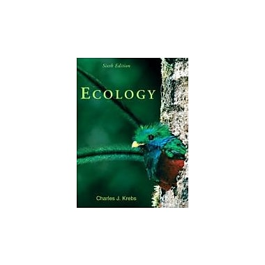 Ecology: The Experimental Analysis of Distribution and Abundance (6th Edition), New Book (9780321507433)