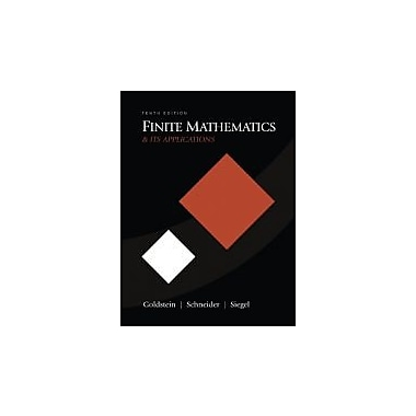 Finite Mathematics & Its Applications (10th Edition), Used Book (9780321571892)