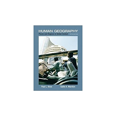 Places and Regions in Global Context: Human Geography, Used Book (9780321580023)