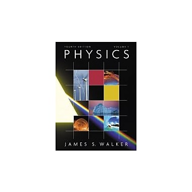 Physics with MasteringPhysics, Volume 1 (4th Edition), New Book (9780321597519)
