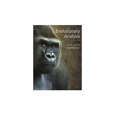 Evolutionary Analysis (5th Edition), Used Book (9780321616678)