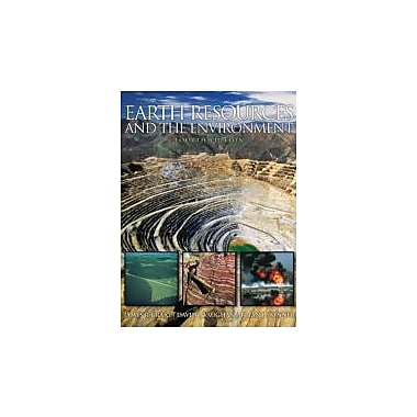 Earth Resources and the Environment (4th Edition), New Book (9780321676481)