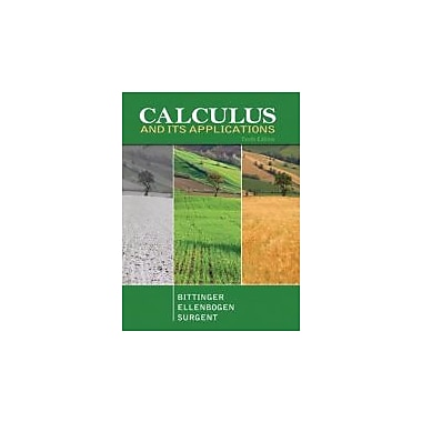Calculus and Its Applications (10th Edition), New Book (9780321694331)