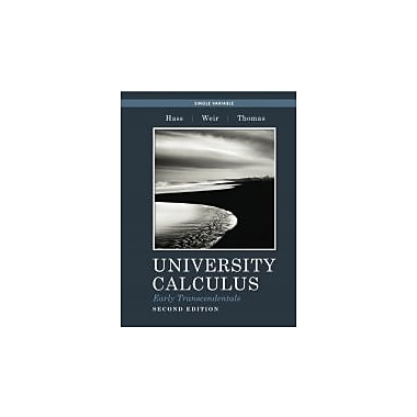 University Calculus, Early Transcendentals, Single Variable (2nd Edition), Used Book (9780321694591)