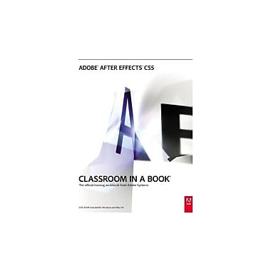 Adobe After Effects CS5 Classroom in a Book, Used Book (9780321704498)