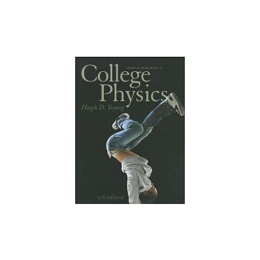 College Physics (9th Edition), New Book (9780321733177)