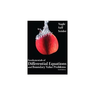 Fundamentals of Differential Equations & Boundary Value Problems, Used (9780321747747)