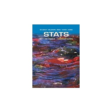 Stats: Data and Models, First Canadian Edition with MyStatLab, New Book (9780321748294)