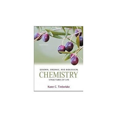 General, Organic, and Biological Chemistry: Structures of Life Plus Mastering Chemistry, New (9780321750129)