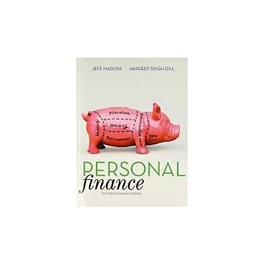 Personal Finance, Second Canadian Edition with MyFinanceLab (2nd Edition), New Book (9780321751157)