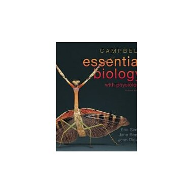 Campbell Essential Biology w/Physiology Plus MasteringBiology w/eText Access Card Package, Used (9780321763327)