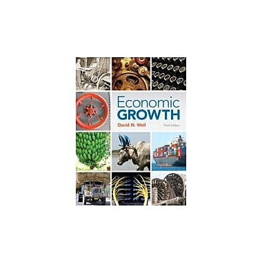 Economic Growth (3rd Edition), Used Book (9780321795731)