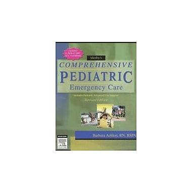 Mosby's Comprehensive Pediatric Emergency Care, New Book (9780323047463)