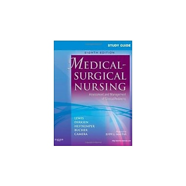 Study Guide for Medical-Surgical Nursing: Assessment & Management of Clinical Problems, Used (9780323066549)