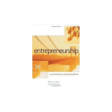Entrepreneurship: A Process Perspective, Used Book (9780324365580)