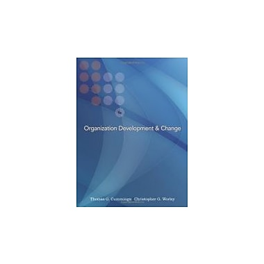 Organization Development and Change (with InfoTrac College Edition Printed Access Card), New Book (9780324421385)
