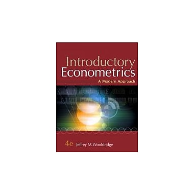 Introductory Econometrics: A Modern Approach (Book Only), New Book (9780324660548)