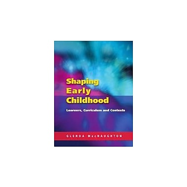 Shaping Early Childhood, New Book (9780335211067)