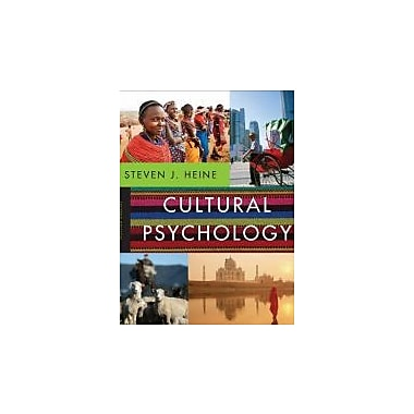 Cultural Psychology (Second Edition), New Book (9780393912838)