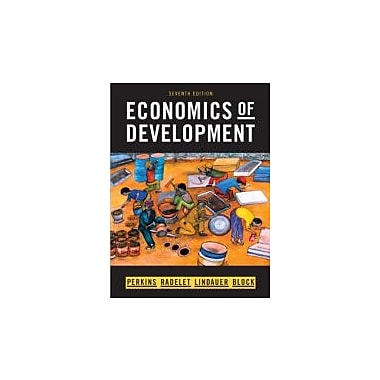 Economics of Development (Seventh Edition), Used Book (9780393934359)