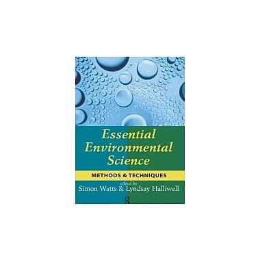 Essential Environmental Science: Methods and Techniques, Used Book (9780415132473)