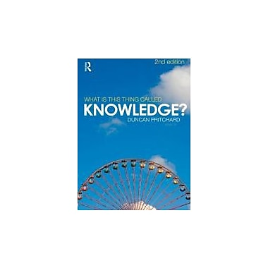 What is this thing called Knowledge?, Used Book (9780415552981)