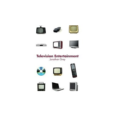 Television Entertainment (Communication and Society), New Book (9780415772242)