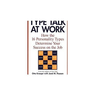 Type Talk at Work (Revised): How the 16 Personality Types Determine Your Success on the Job, Used Book (9780440509288)