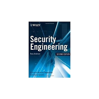 Security Engineering: A Guide to Building Dependable Distributed Systems, Used Book (9780470068526)