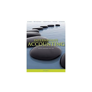 Intermediate Accounting 9th Canadian Edition Volume 1, livre usagé (9780470161005), anglais