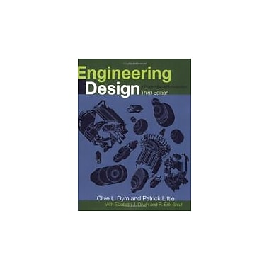 Engineering Design: A Project Based Introduction, New Book (9780470225967)