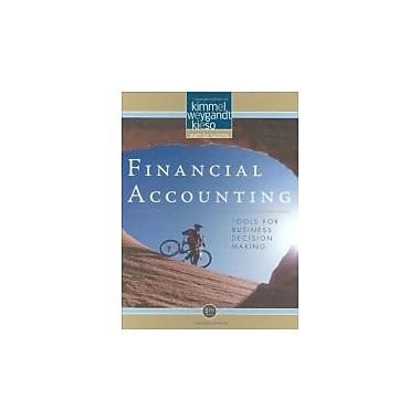 Financial Accounting: Tools for Business Decision Making, New Book (9780470239803)