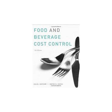 Food and Beverage Cost Control, New Book (9780470251386)