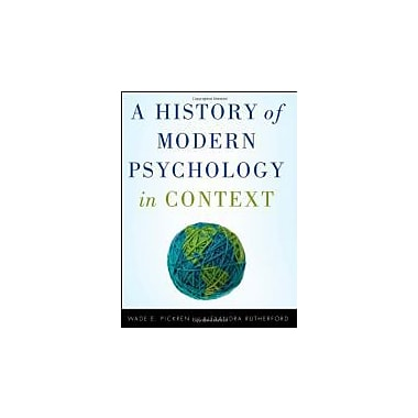 A History of Modern Psychology in Context, Used Book (9780470276099)