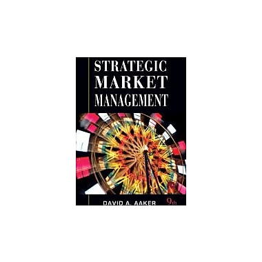 Strategic Market Management, New Book (9780470317242)