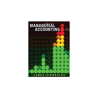 Managerial Accounting, New Book (9780470333341)