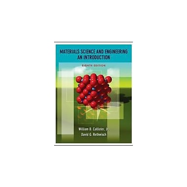 Materials Science and Engineering: An Introduction, New Book (9780470419977)