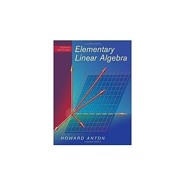 Elementary Linear Algebra, New Book (9780470458211)