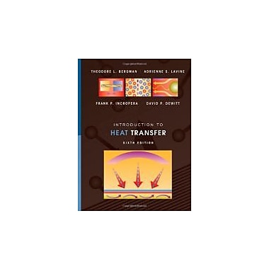 Introduction to Heat Transfer, New Book (9780470501962)