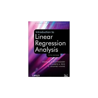 Introduction to Linear Regression Analysis, New Book (9780470542811)