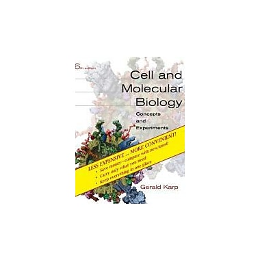 Cell and Molecular Biology: Concepts and Experiments, Sixth Edition Binder Ready Version