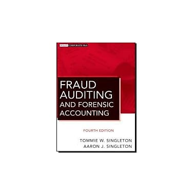 Fraud Auditing and Forensic Accounting, New Book (9780470564134)