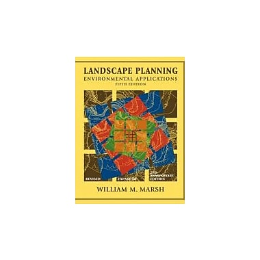 Landscape Planning: Environmental Applications, Used Book (9780470570814)