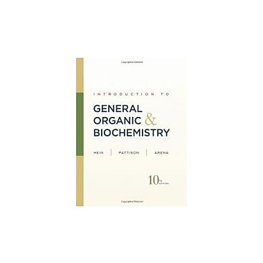 Introduction to General, Organic, and Biochemistry 10th Edition