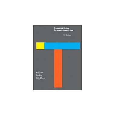 Typographic Design: Form and Communication, Used Book (9780470648216)