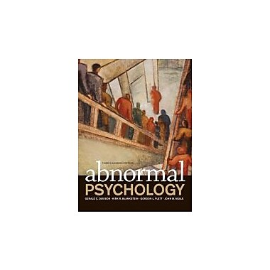 Abnormal Psychology, New Book (9780470840726)