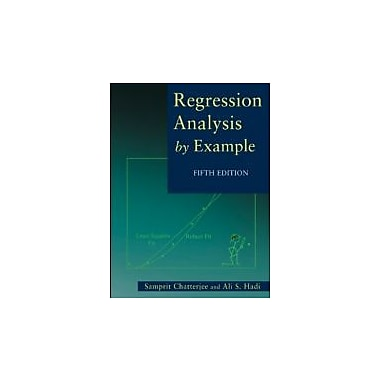 Regression Analysis by Example, New Book (9780470905845)