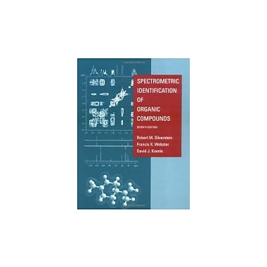 Spectrometric Identification of Organic Compounds, New Book (9780471393627)