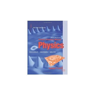 Student Solutions Manual to Accompany Physics, 5th Edition, New Book (9780471398295)